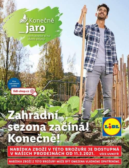 Lidl - Brožura zahrada