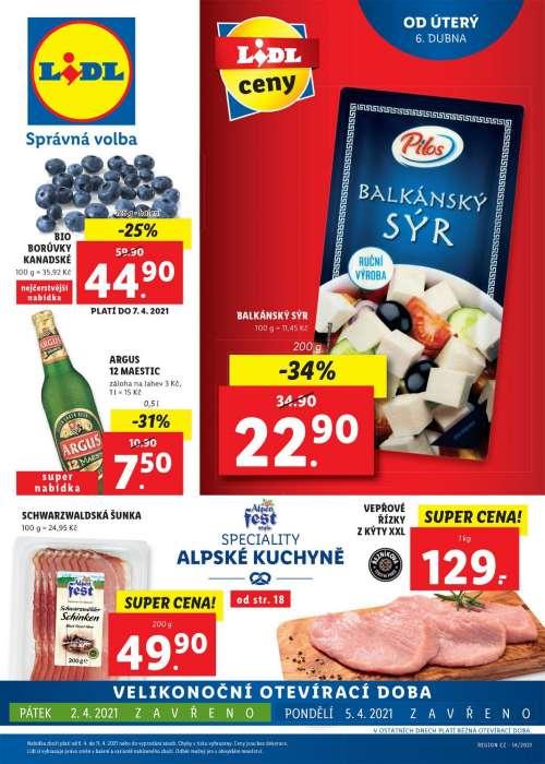 Lidl - Speciality alpské kuchyně