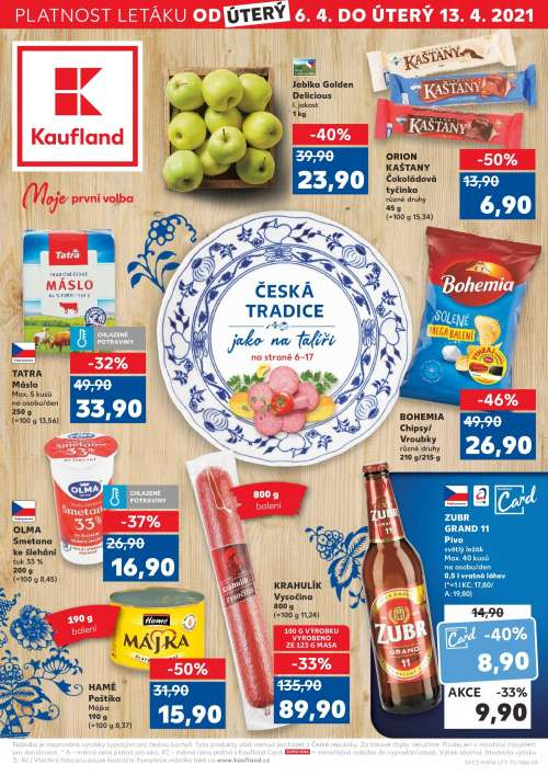 Kaufland - Česká tradice jako na talíři