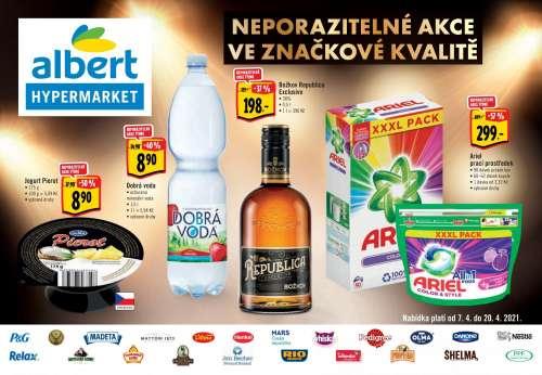 Albert Hypermarket - Neporazitelná akce ve značkové kvalitě