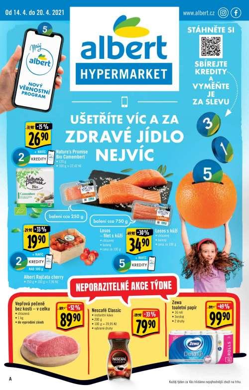 Albert Hypermarket - Ušetříte víc a za zdravé  jídlo nejvíc