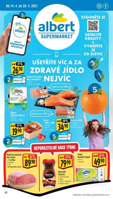 Albert Supermarket - Ušetříte víc a  za zdravé  jídlo nejvíc