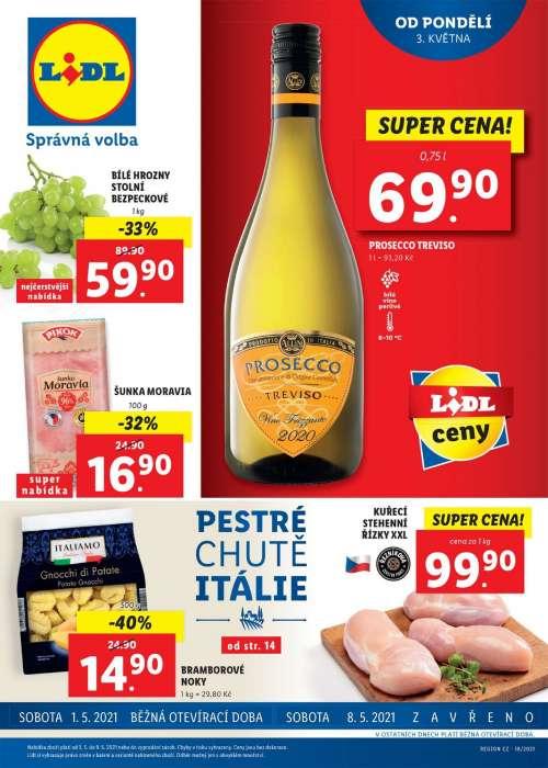 Lidl - Pestré chutě Itálie