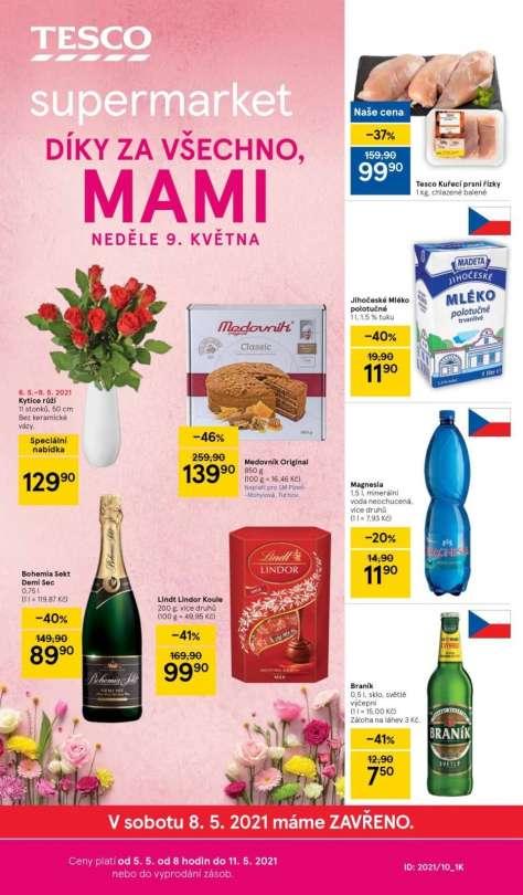 TESCO supermarket - Díky za všechno, mami