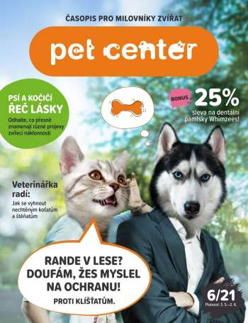 Leták Pet Center