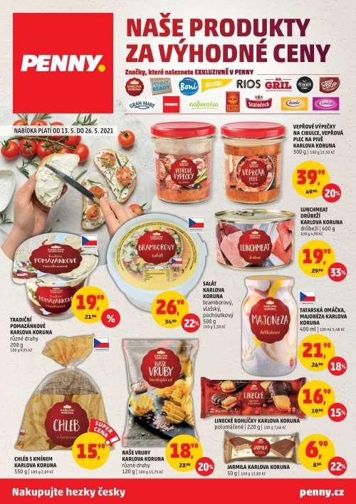 PENNY MARKET - Naše produkty za výhodné ceny
