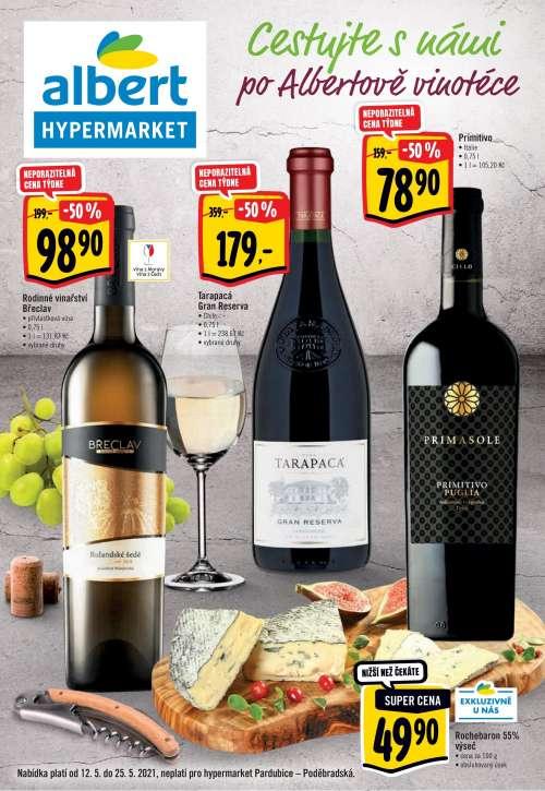 Albert Hypermarket - Cestujte s námi po Albertově vinotéce