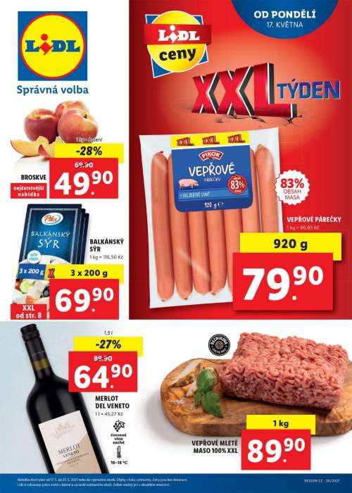 Lidl - XXL týden