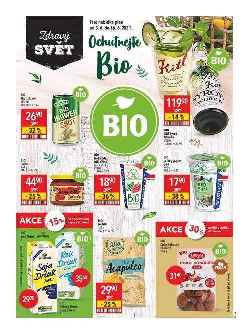 Globus - Zdravý svět - Ochutnejte Bio