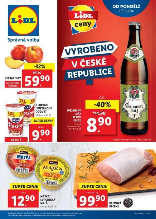 Lidl - Vyrobeno v České republice