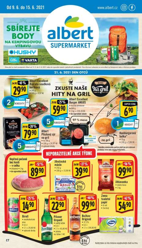 Albert Supermarket - Zkuste naše hity na gril