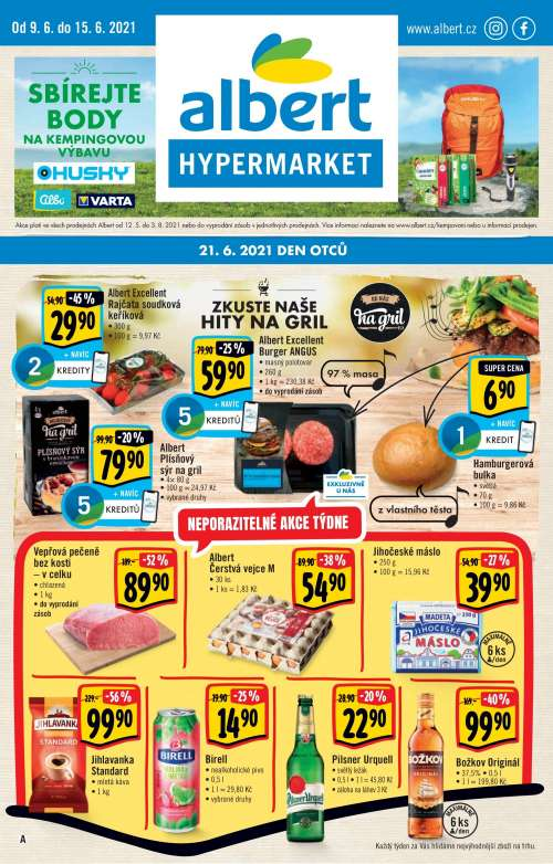 Albert Hypermarket - Zkuste naše hity na gril