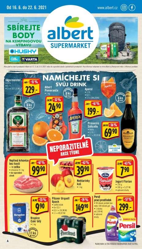 Albert Supermarket - Namíchejte si svůj drink