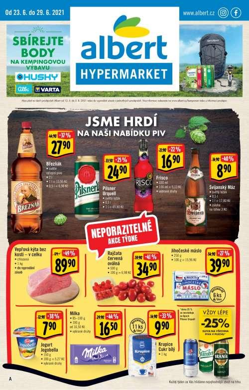 Albert Hypermarket - Jsme hrdí na naši nabídku piv