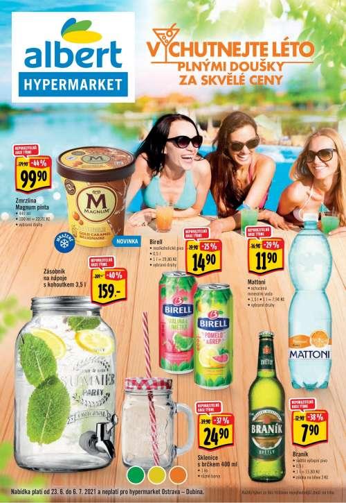 Albert Hypermarket - Vychutnejte léto plnými doušky