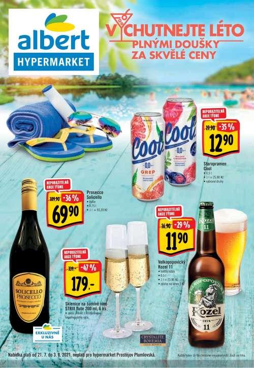 Albert Hypermarket - Vychutnejte léto plnými doušky za skvělé ceny