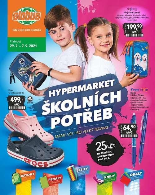 Globus – Hypermarket školních potřeb