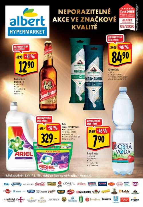 Albert Hypermarket - Neporazitelné akce ve značkové kvalitě