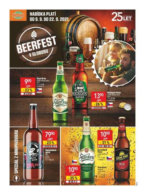 Globus - Beerfest v Globusu