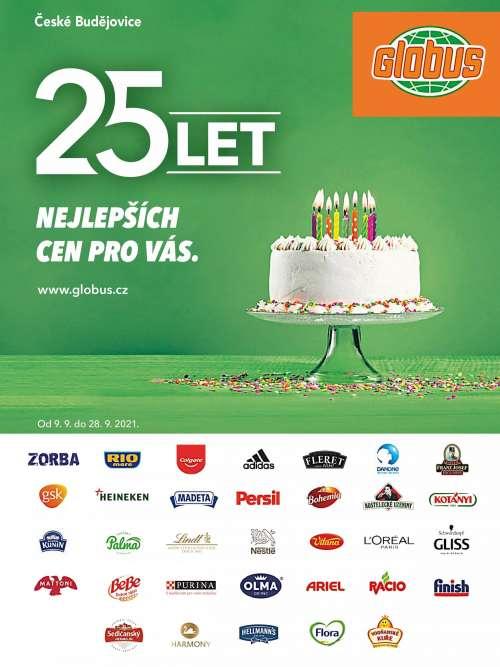Globus - 25 let nejlepších cen pro vás