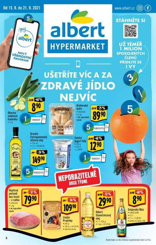 Albert Hypermarket - Ušetřete víc a zdravé jídlo nejvíc