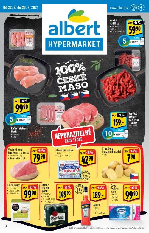 Albert Hypermarket - Neporazitelná akce týdne