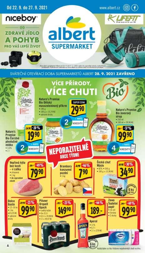 Albert Supermarket - Neporazitelné akce týdne