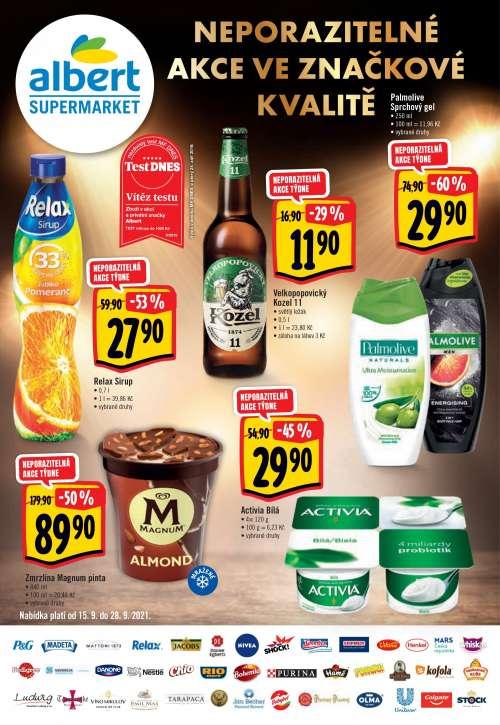Albert Supermarket - Neporazitelné akce ve značkové kvalitě