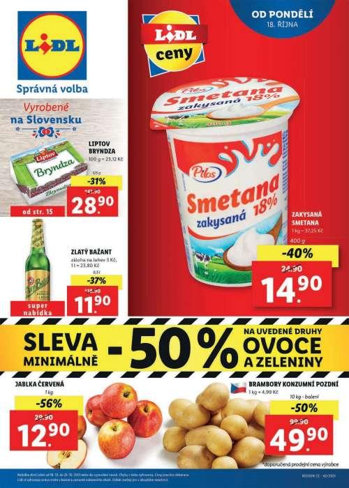 Lidl - Vyrobené na Slovensku
