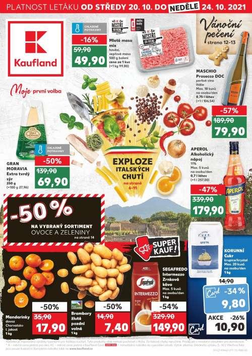 Kaufland - Exploze italských chutí