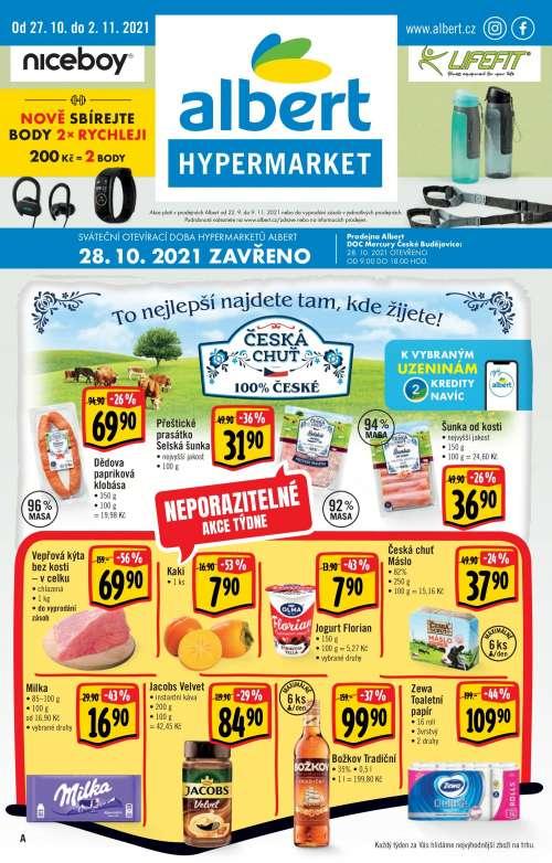 Albert Hypermarket - To nejlepší najdete tam, kde žijete!