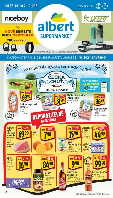Albert Supermarket - To nejlepší najdete tam, kde žijete!