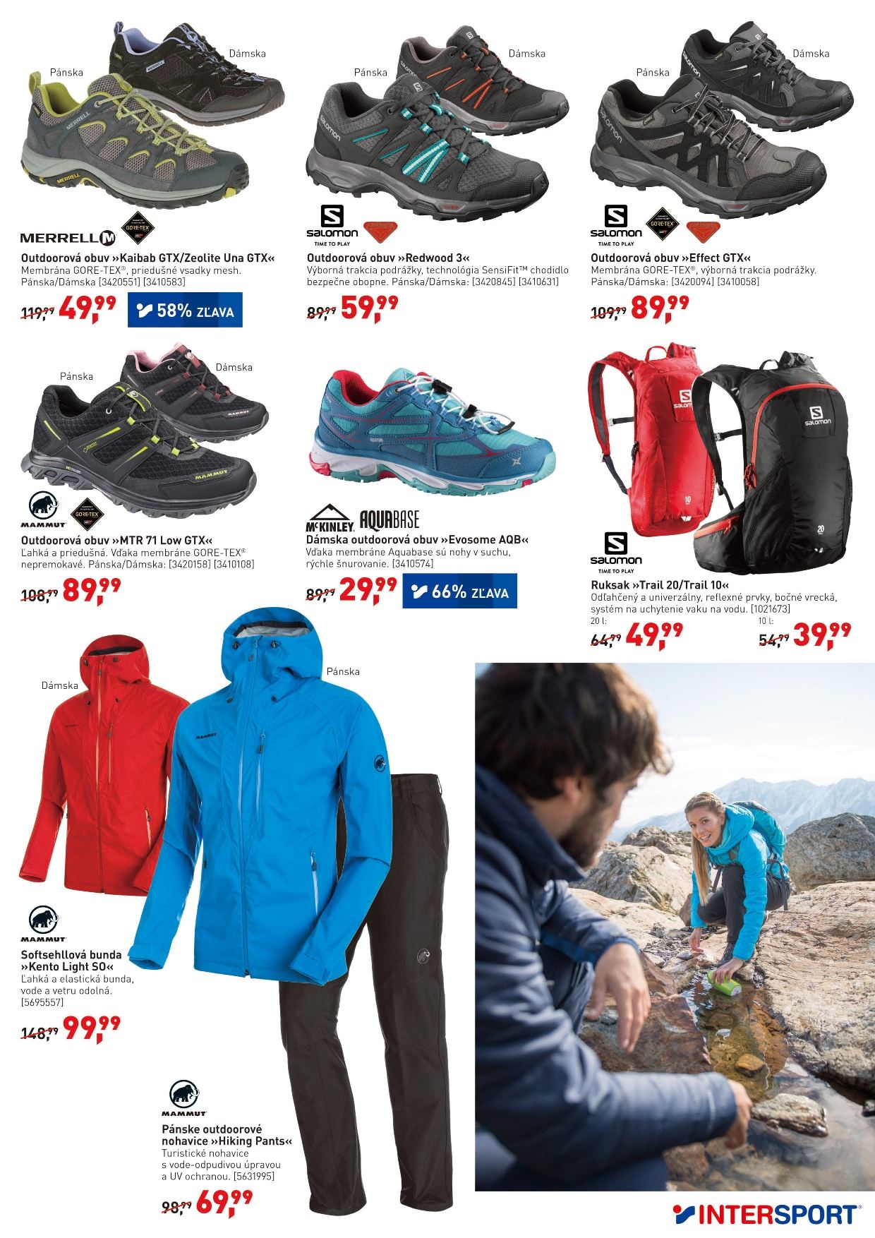 Leták Intersport - 11.4.2018 - 22.4.2018. Strana 5.