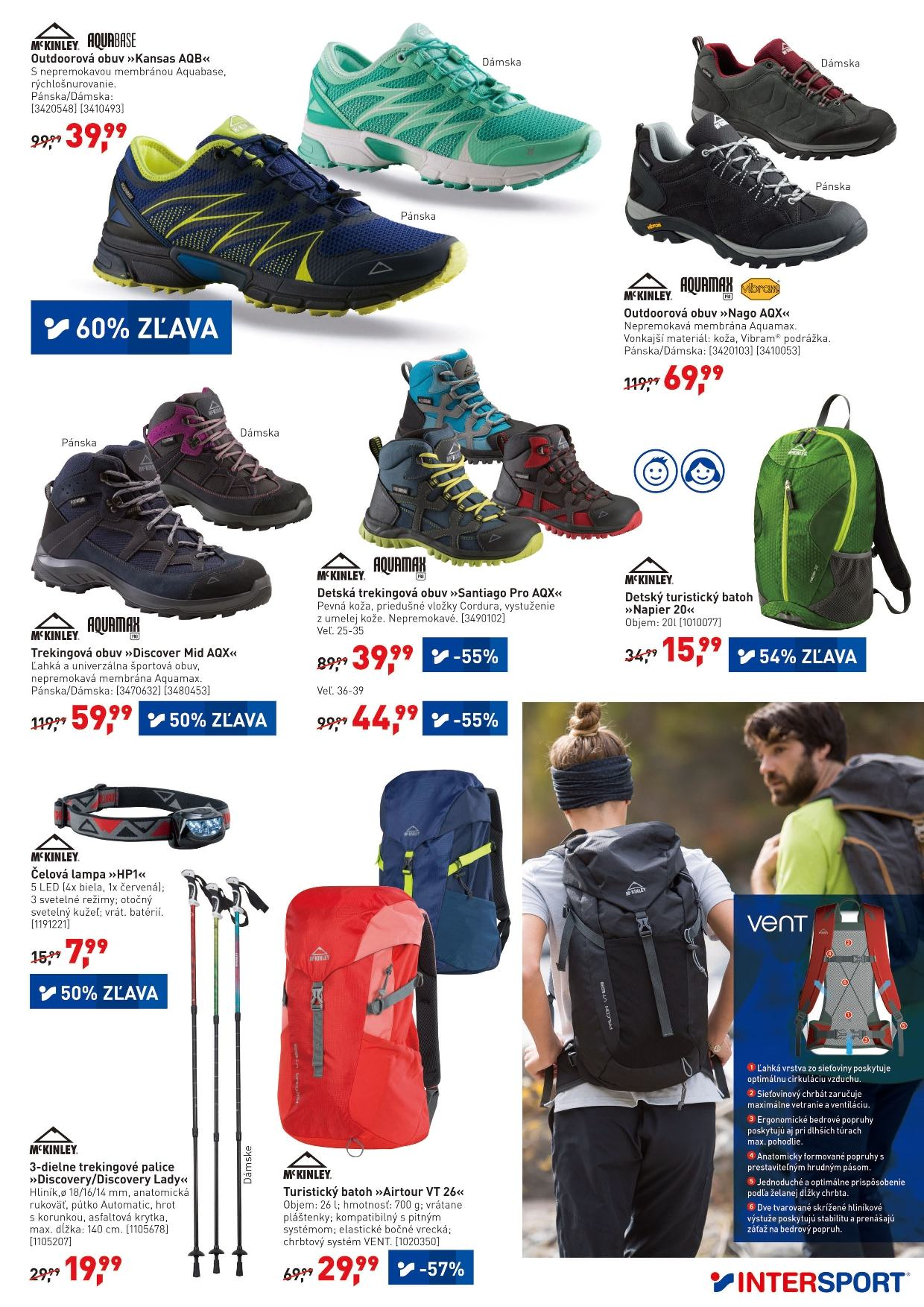 Leták Intersport - 11.5.2018 - 20.5.2018. Strana 7.