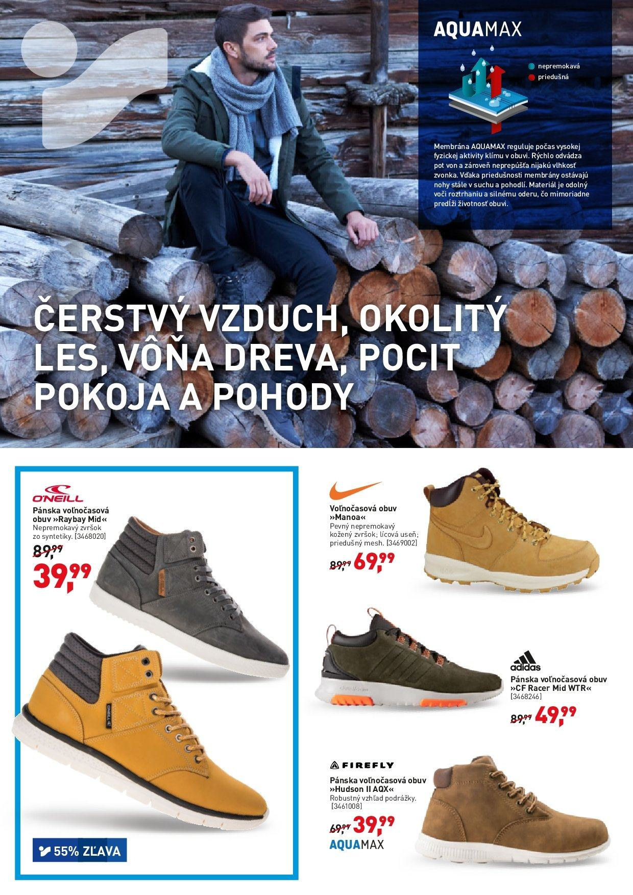 Leták Intersport - 3.10.2018 - 14.10.2018. Strana 2.