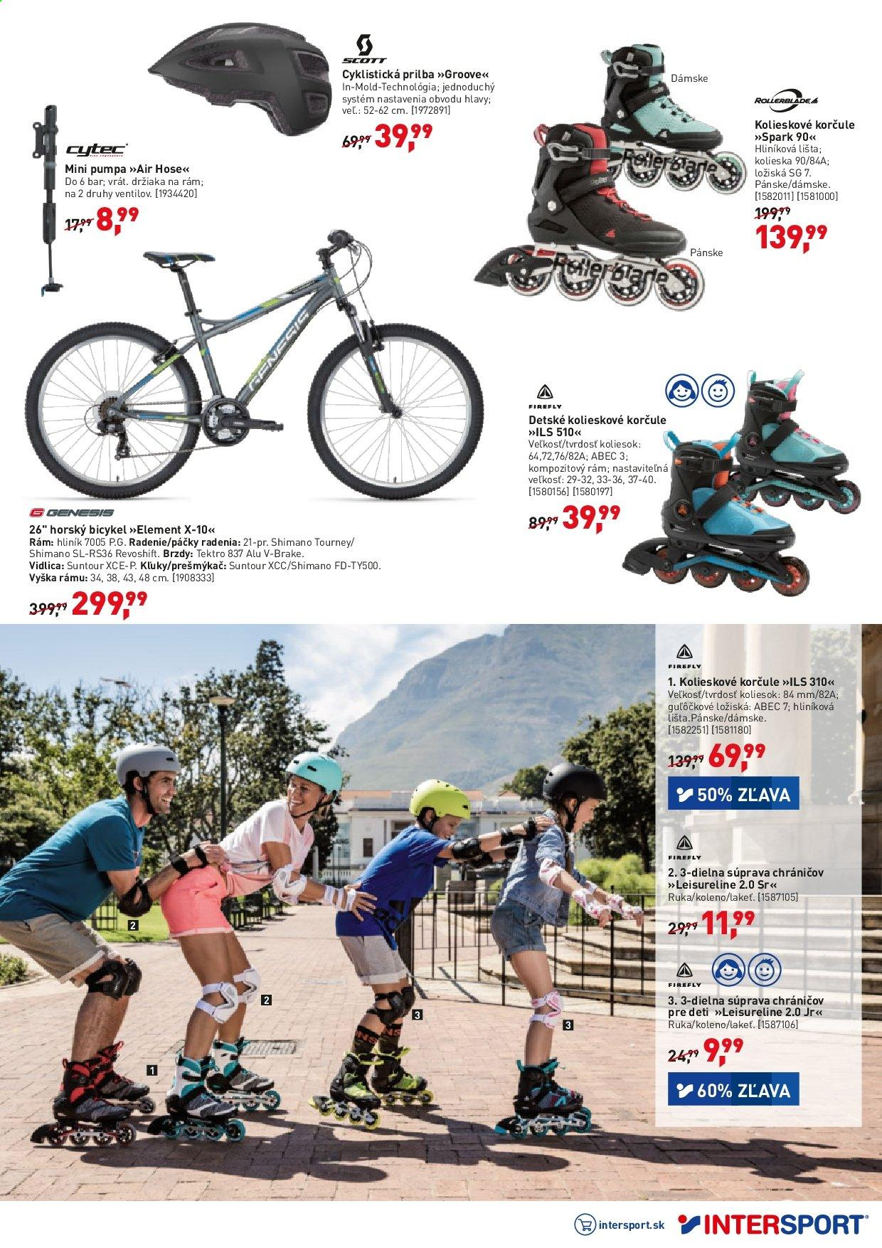 Leták Intersport - 10.5.2019 - 19.5.2019. Strana 3.