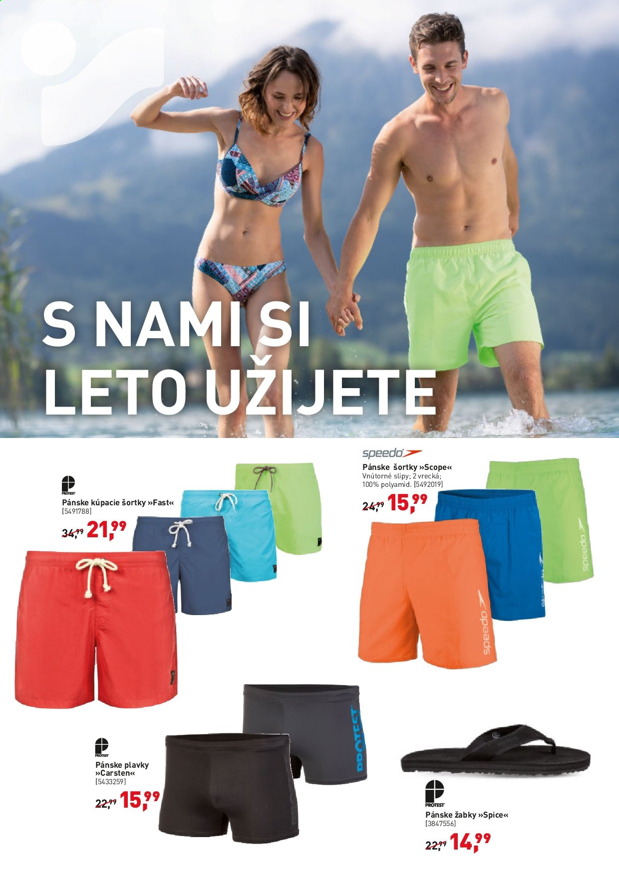 Leták Intersport - 12.6.2019 - 23.6.2019. Strana 4.