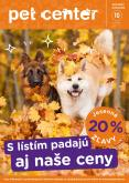 Leták Pet Center - 1.10.2020 - 31.10.2020.