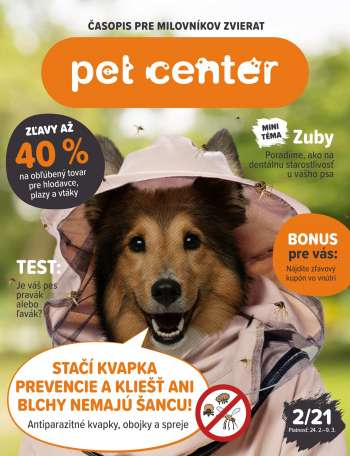 Leták Pet Center - 24.2.2021 - 9.3.2021.