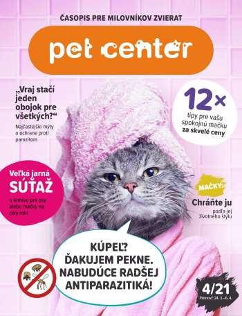 Leták Pet Center - 24.3.2021 - 6.4.2021.