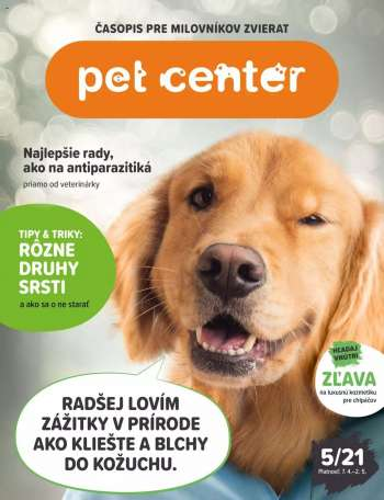 Leták Pet Center - 7.4.2021 - 2.5.2021.