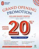 Holland Bakery promo
