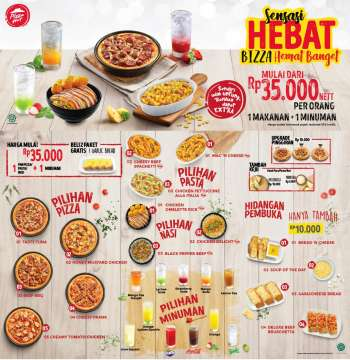 Promo Pizza Hut - 03/01/2021 - 03/31/2021.