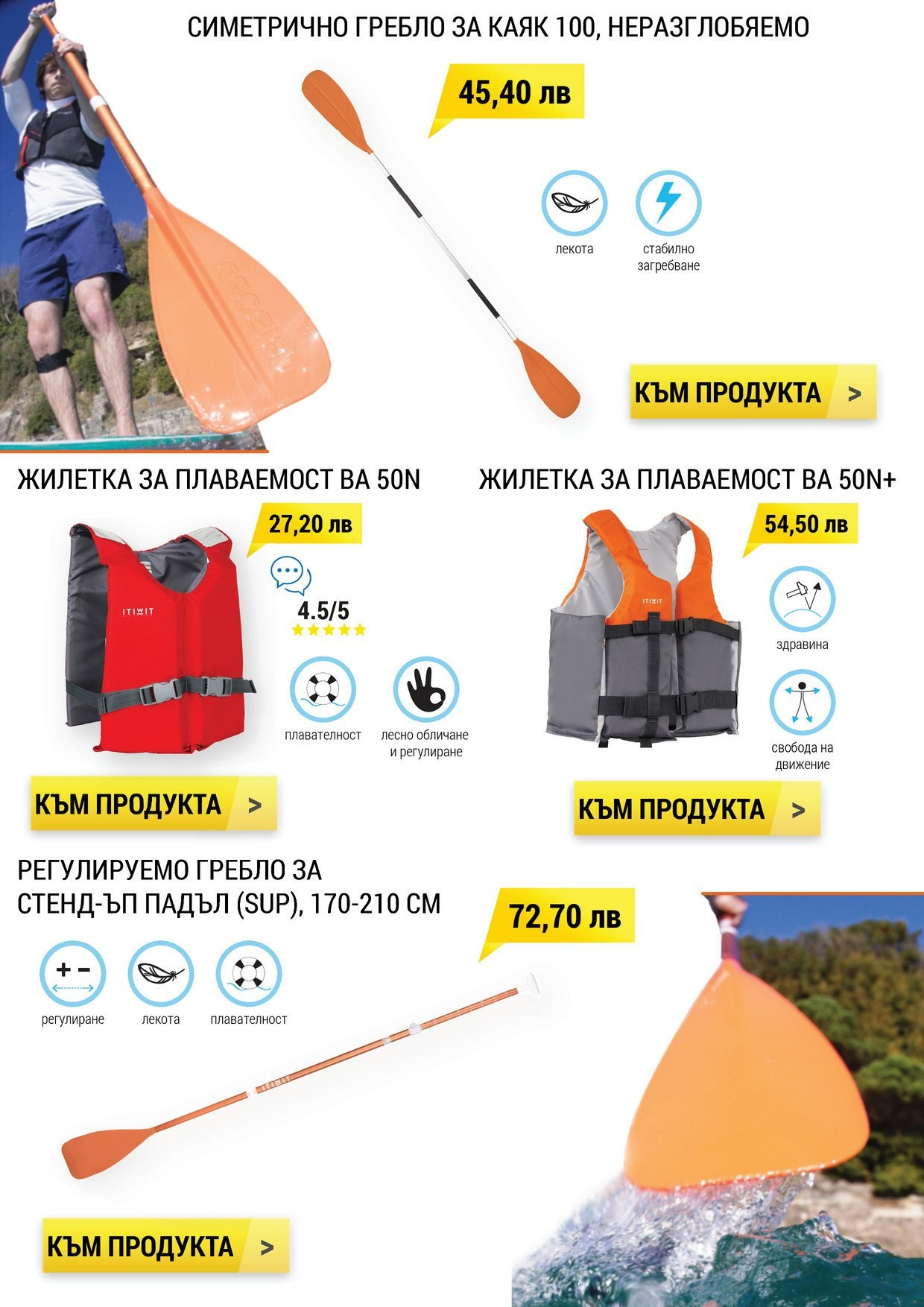 Брошура на Decathlon - 01.07.2018 - 31.07.2018. Страница 4.