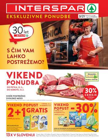 INTERSPAR katalog - 10.02.2021 - 16.02.2021.