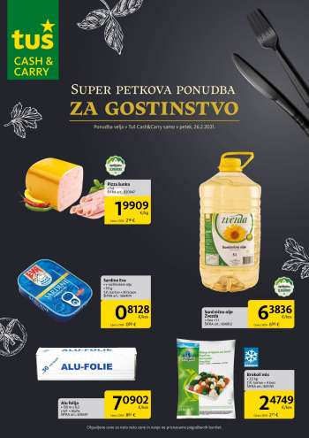 Tuš Cash & Carry katalog - 26.02.2021 - 26.02.2021.