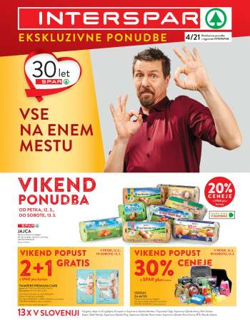 INTERSPAR katalog - 10.03.2021 - 23.03.2021.