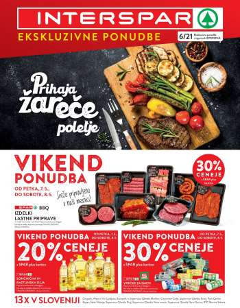 INTERSPAR katalog - 05.05.2021 - 11.05.2021.