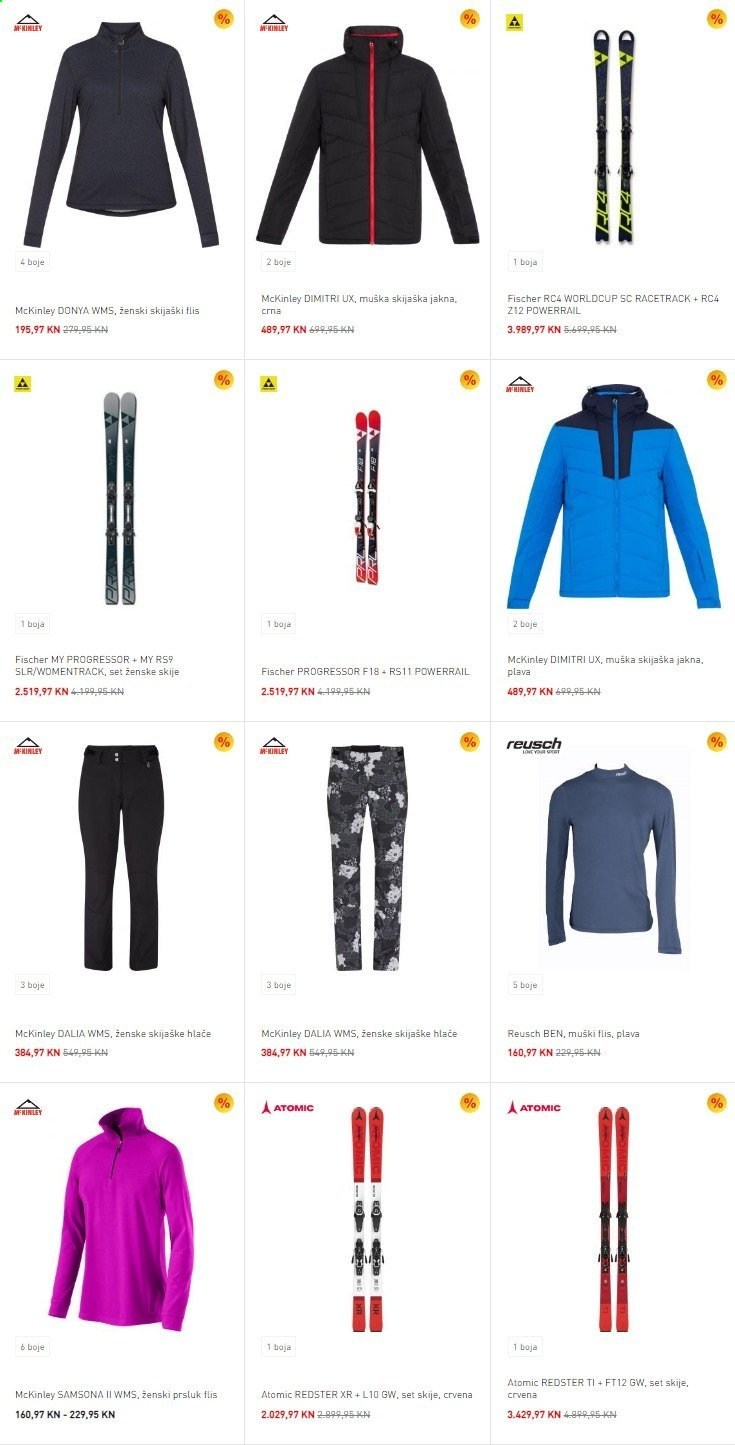 Intersport katalog. Stranica 9.