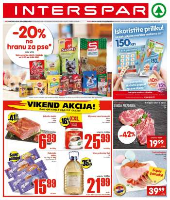 INTERSPAR katalog - 17.03.2021. - 23.03.2021.